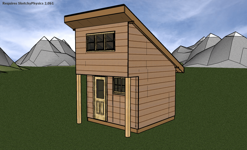 Students to build three tiny houses for Small house plans canada
