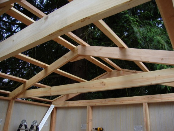 Roof Diagram Gable Framing