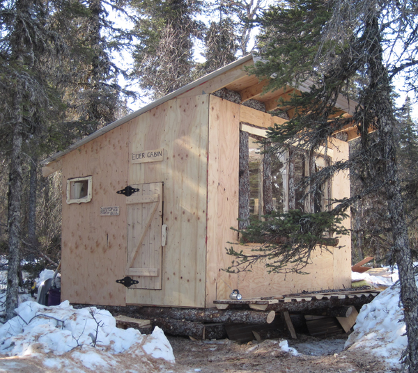 Cabin in alaska for Alaska cabin plans