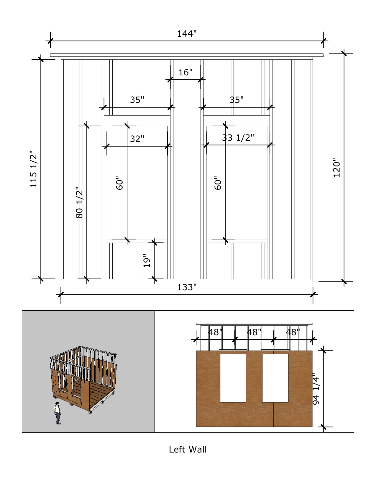 Prospector s cabin 12 x12 for 12x12 room layout