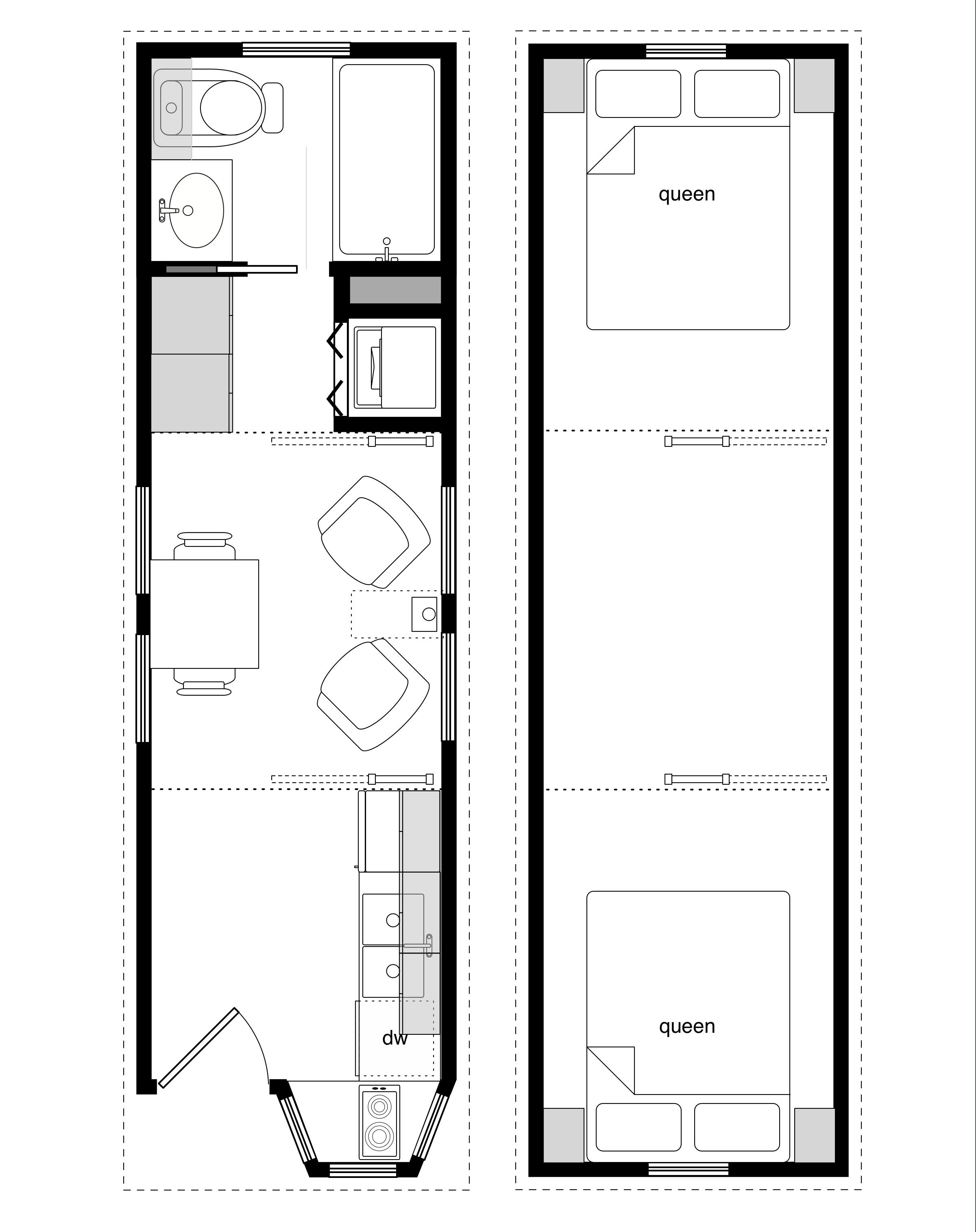 Sample floor plans for the 8 28 coastal cottage for House blueprint sample