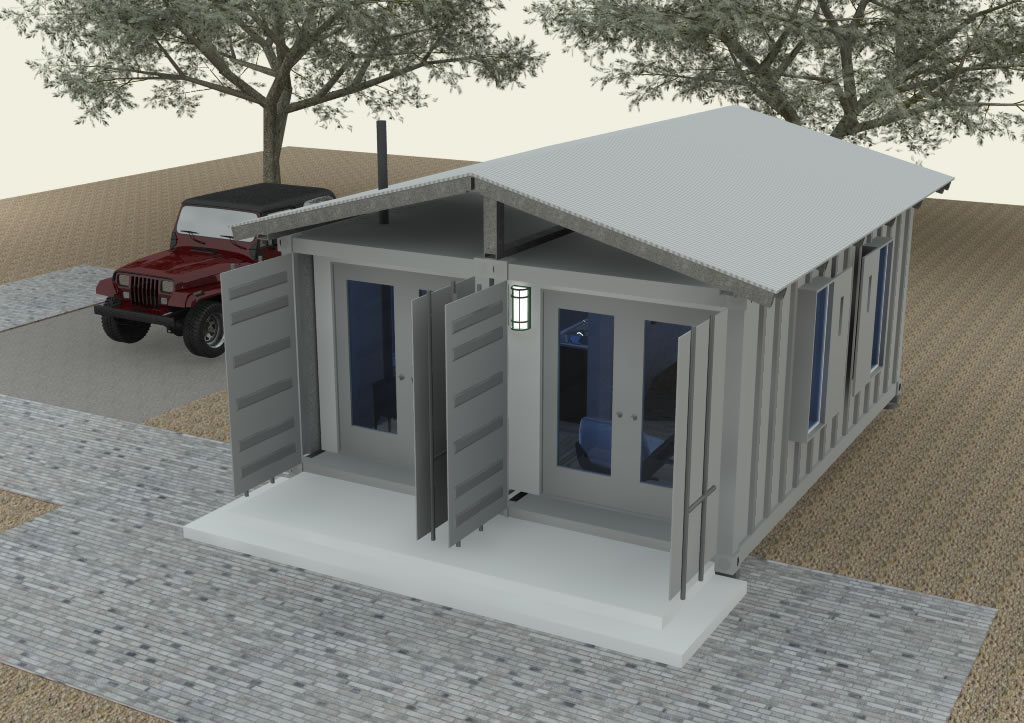 Shipping container cabin concept part 3 - Bithcin shipping container house ii ...