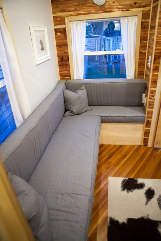 Jamisons Tiny House - Couch
