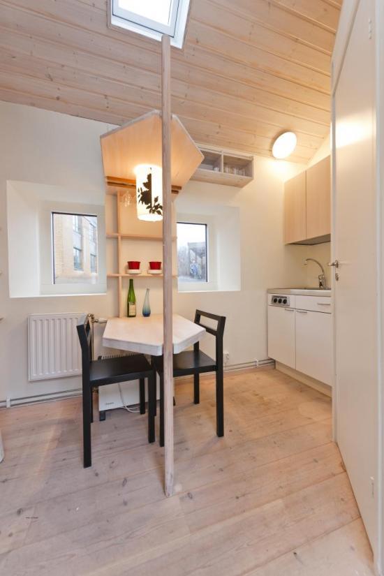 Lund Apartment Kitchen