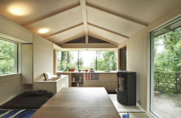Helsinki Cabin - Interior