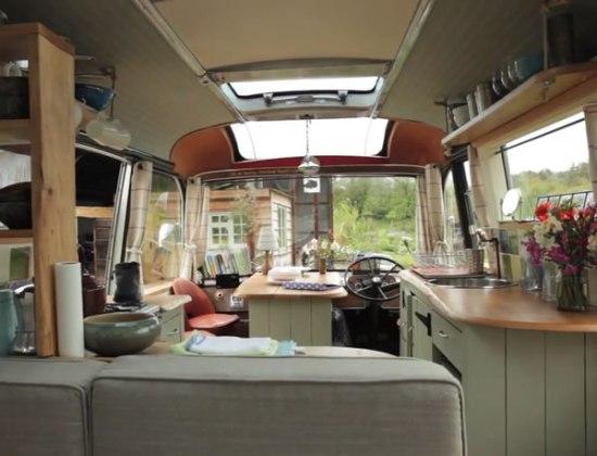 Majestic Bus - Interior Loooking Forward