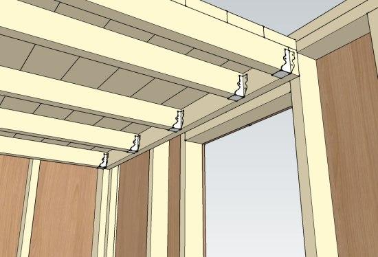 Micro Gambrel - Loft Detail