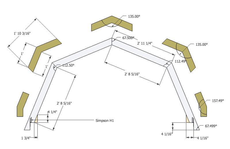 micro gambrel plans