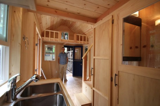 Molecule Tiny Homes - View from Kitchen
