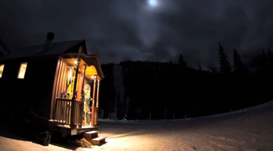 Outdoor Research Tiny Ski Lodge - Night