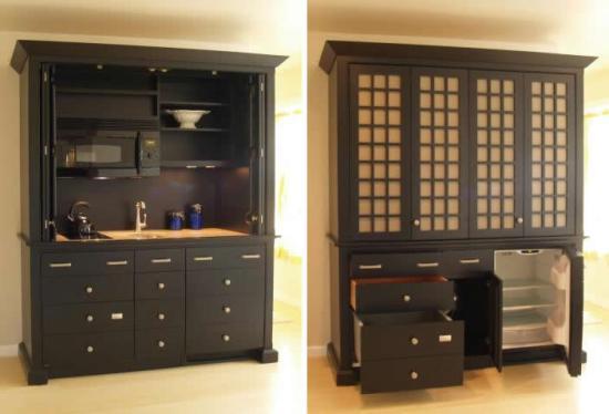 YesterTec Complete Mini Kitchen - open 2