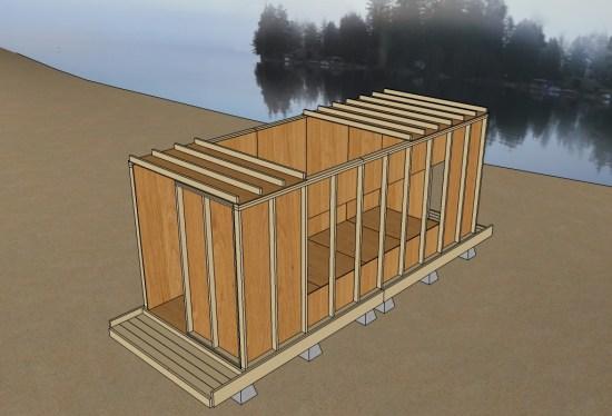 Uncut Tiny House v3 15 Ceiling Panels