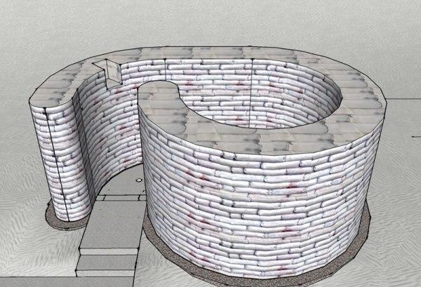 Spiral Shelter - Step 2