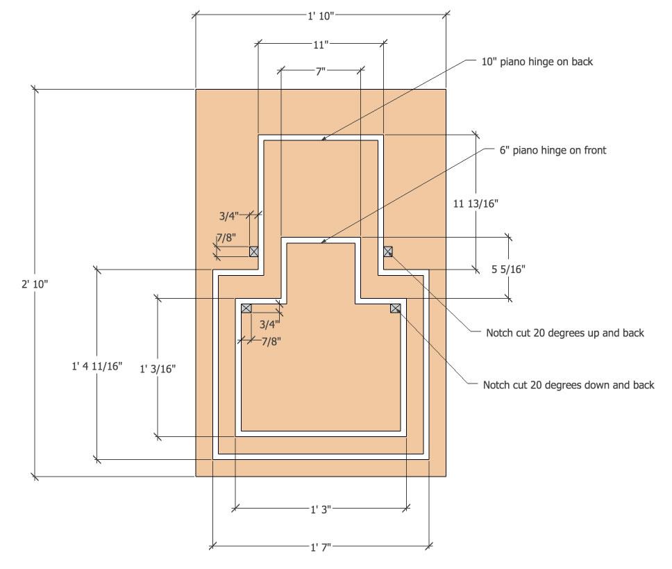 Flat Folding Chair v2 Plans
