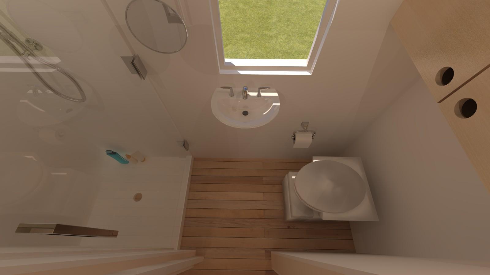Albion 16 Interior - Bath