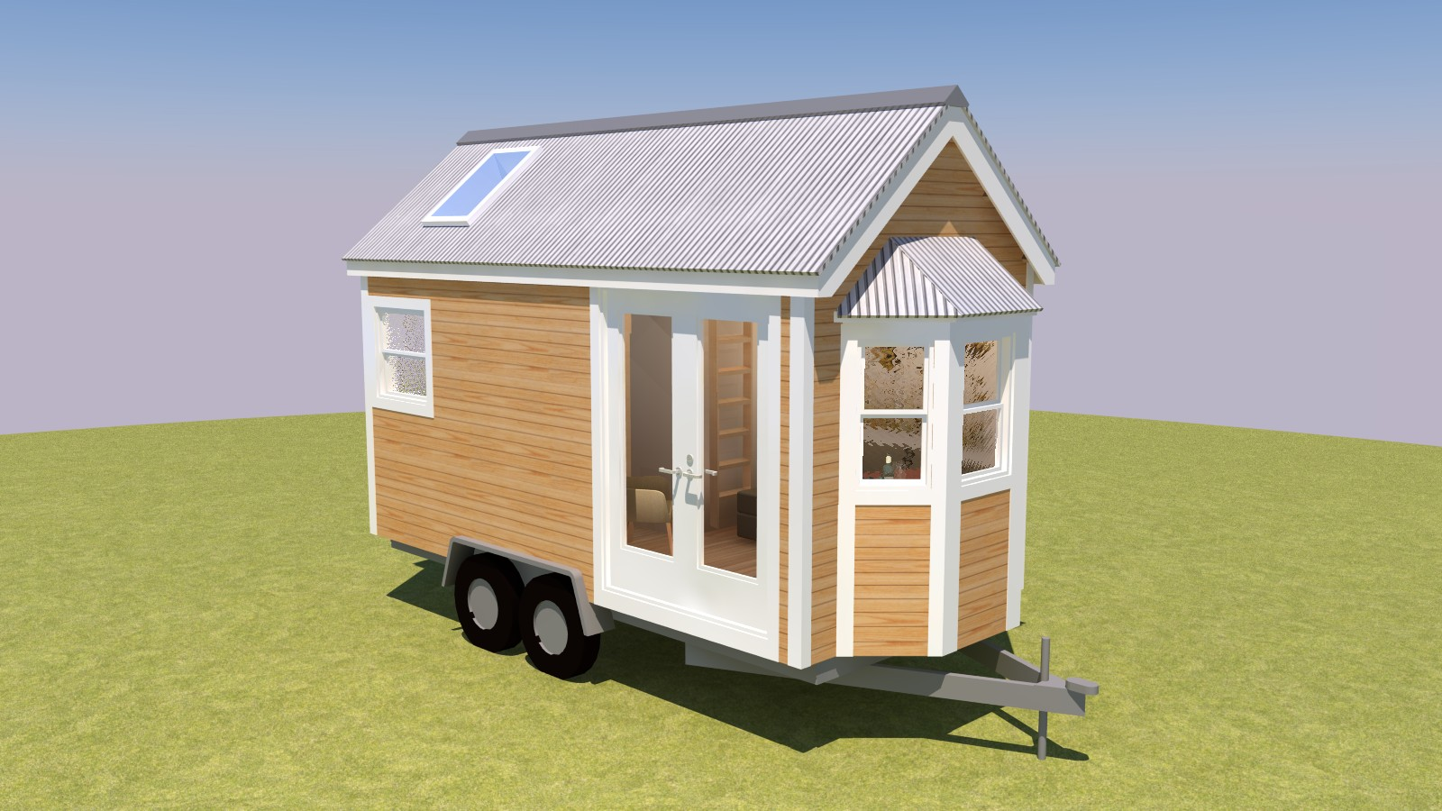 Cleone 16 Tiny House Plans