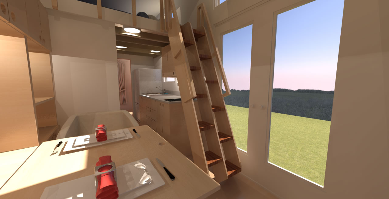 Comptche 24 Tiny House Plans