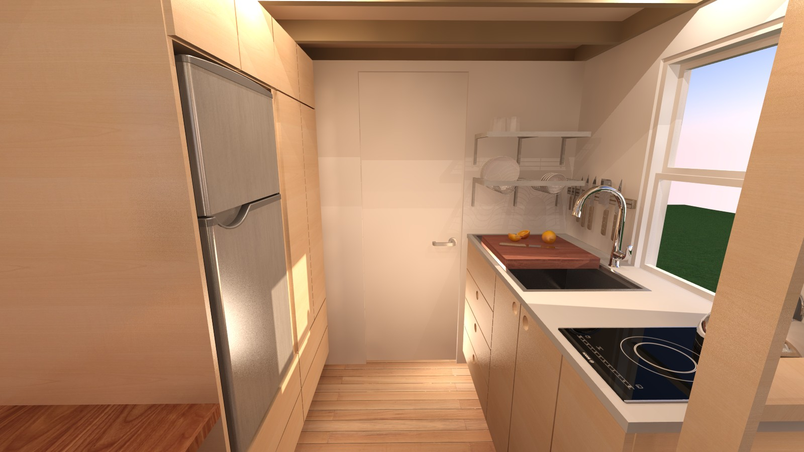 Manchester 14 Tiny House - Kitchen