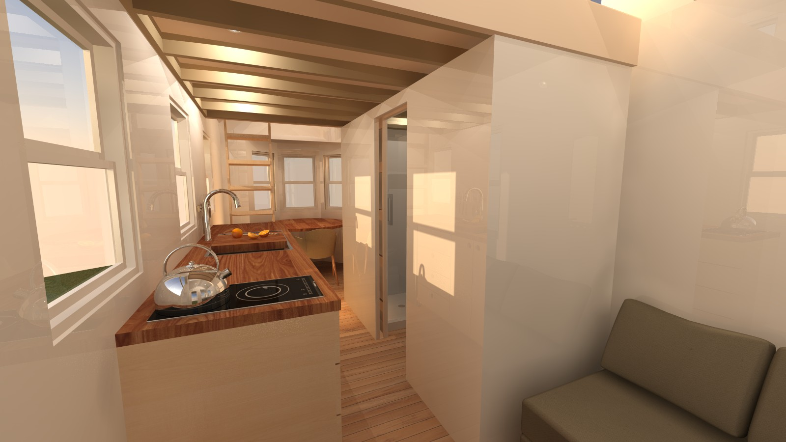 Talmage 20 tiny house plans for Small house interior