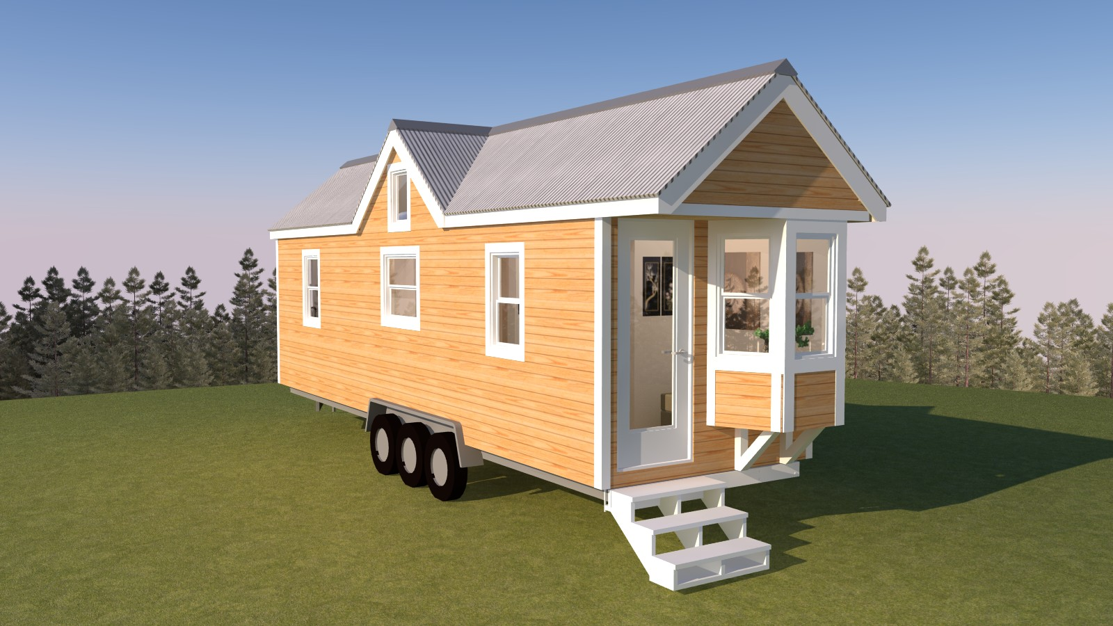 Westport 28 tiny house plans for Tiny house designers