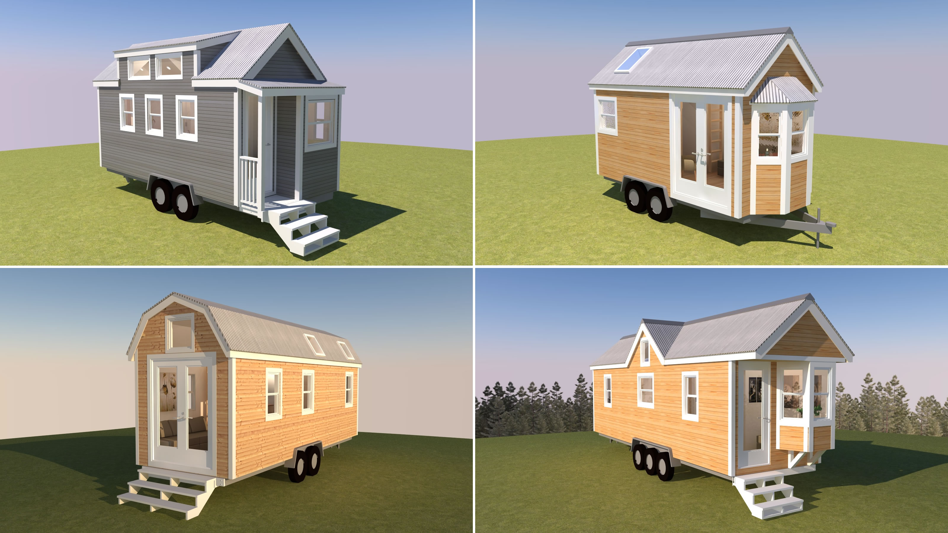 4 new 3d tiny house tour videos. Black Bedroom Furniture Sets. Home Design Ideas