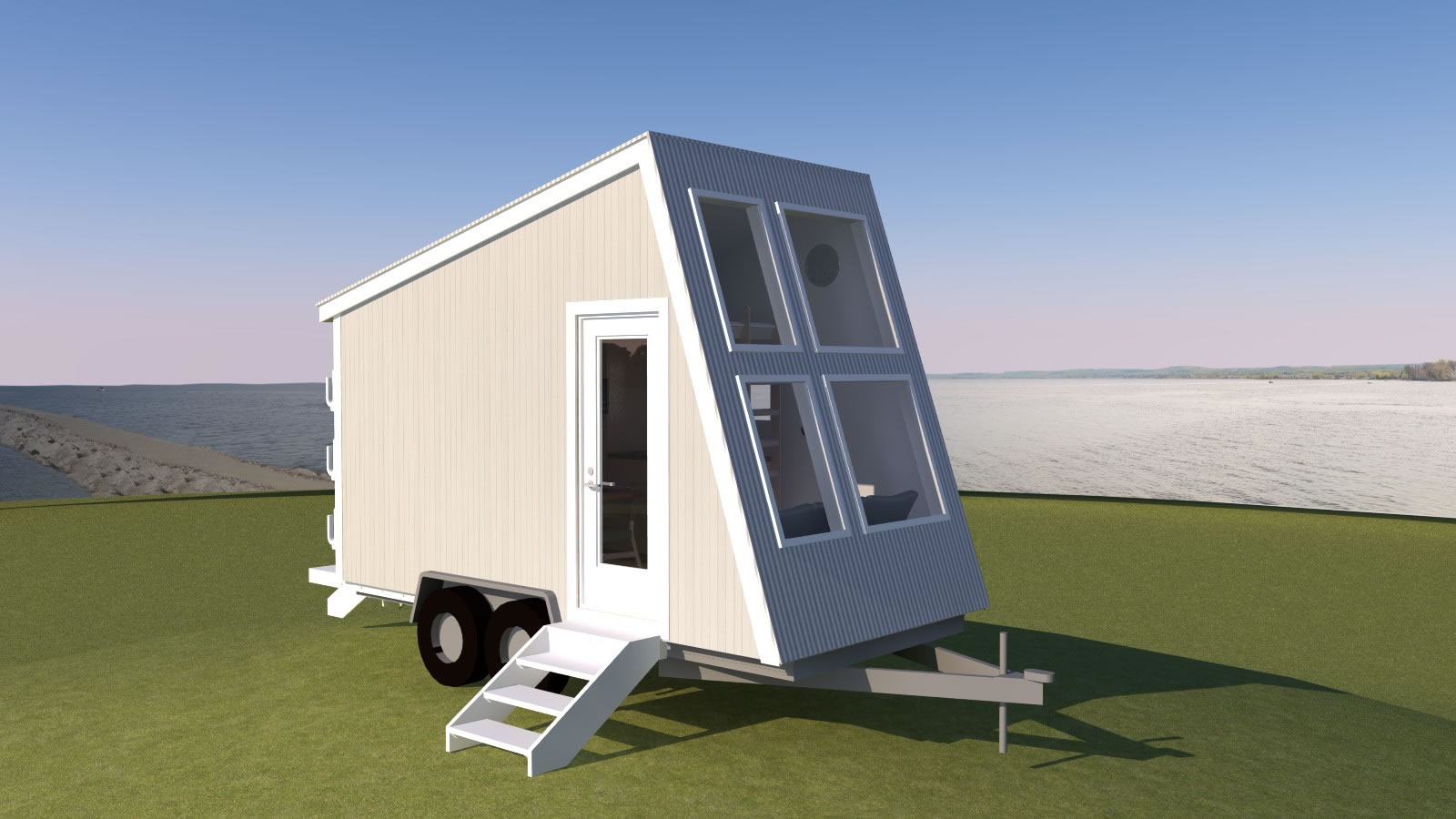 Introducing the anchor bay 16 tiny house plans for Best tiny house designs