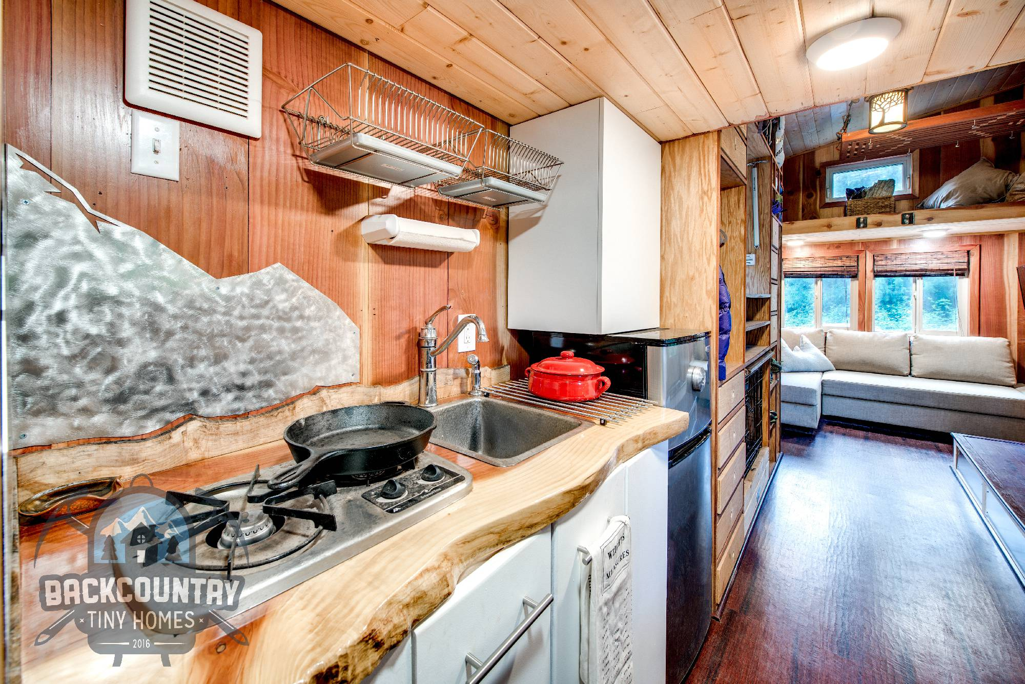 backcountry basecamp tiny house kitchen 2 - Tiny House Kitchen 2