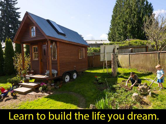 tiny house-build-the-life