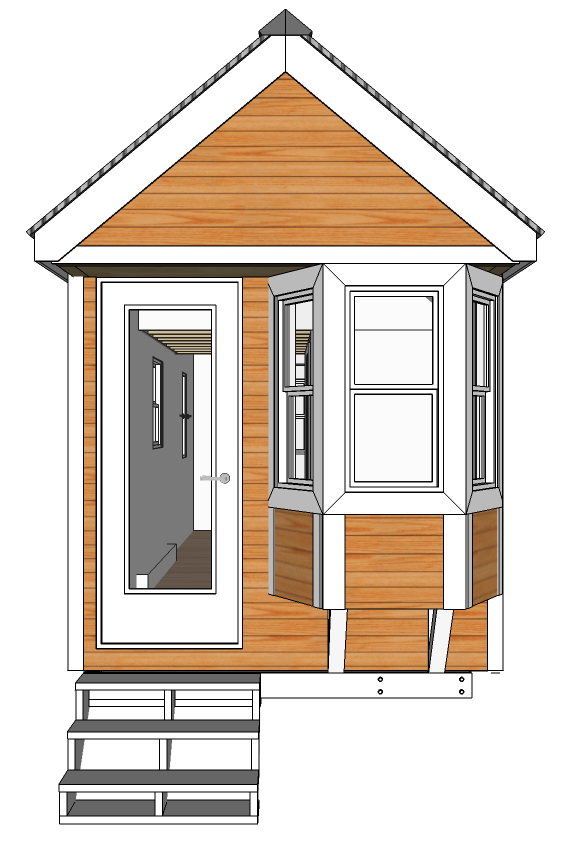 Mix match your own tiny house design mashup for Tiny houses design your own