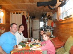 Thanksgiving in tiny house