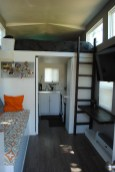 Living room, kitchen and loft