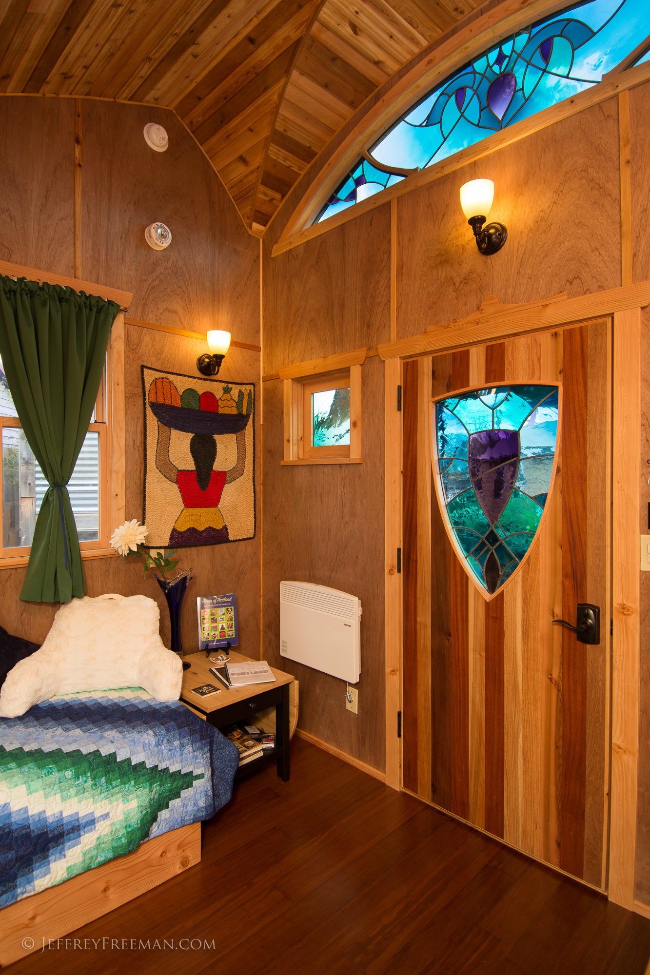 Interior - Pacifica by Zyl Vardos at the Tiny House Hotel