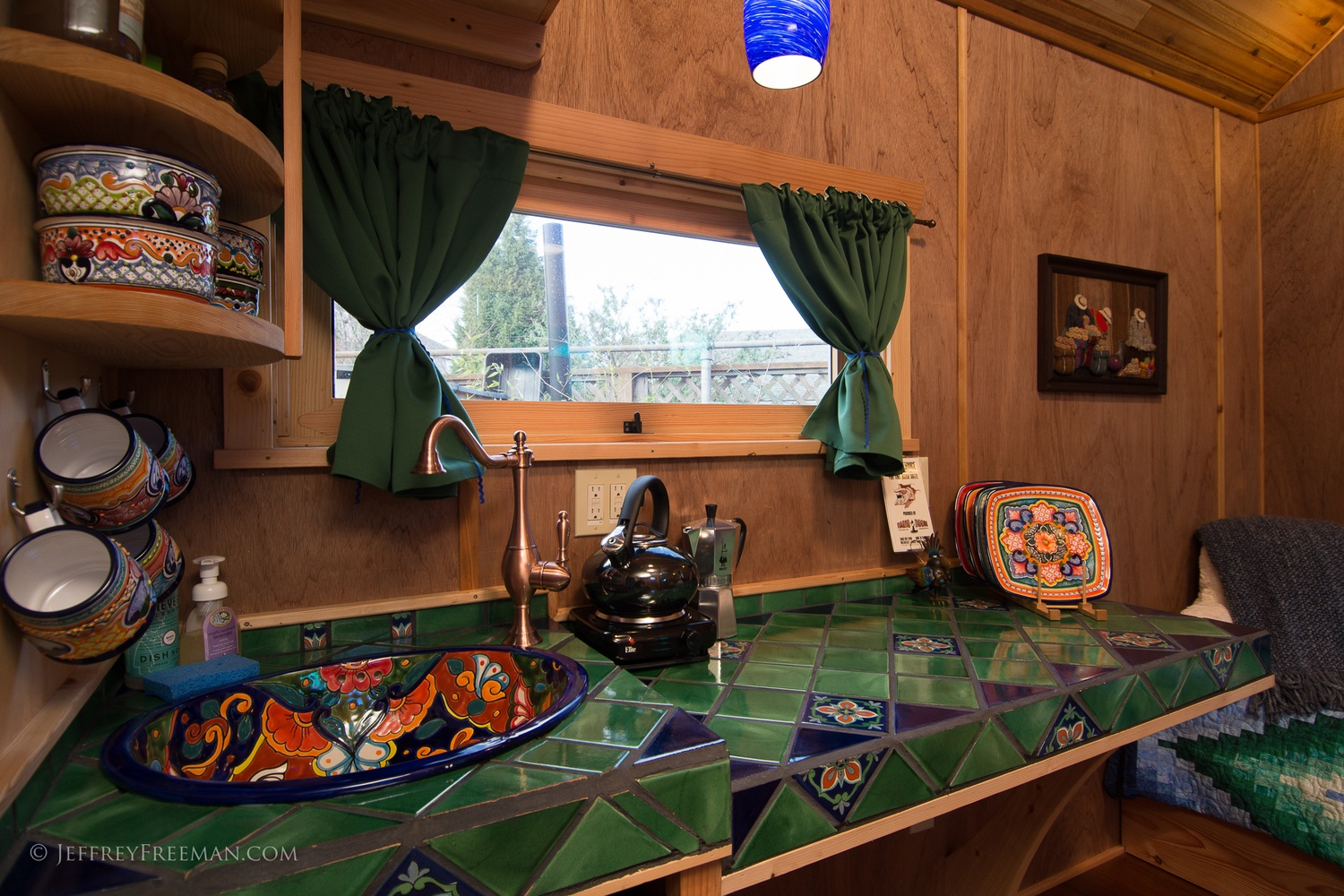 Kitchen - Pacifica by Zyl Vardos at the Tiny House Hotel