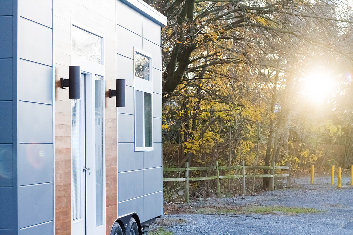 Sunset - The Modern Mini by Liberation Tiny Home