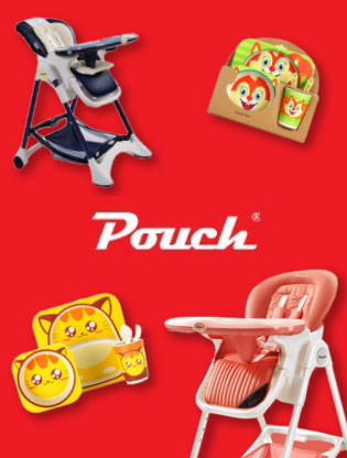 Pouch Stroller, CarSeat, HighChairs