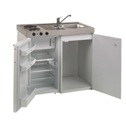 Compact kitchen units