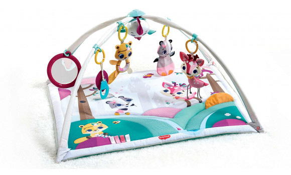 tapis gymini deluxe collection princesse