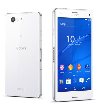 Tablette SONY Xperia Z3 Compact : Full HD pour 339€