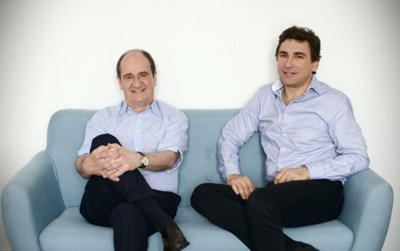 Pierre Lescure et Jean-David Blanc