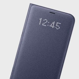 LED Flip Wallet Cover Officielle Samsung Galaxy S8 - Violette