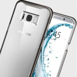 Coque Samsung Galaxy S8 Spigen Neo Hybrid Crystal – Gunmetal