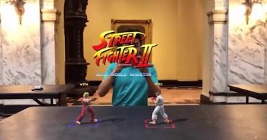 Street Fighter 2 : Arrêtez tout, ce gars l'a inventé  en réalité augmentée !