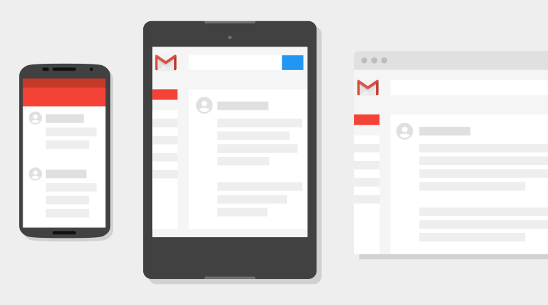 Design de Gmail