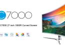 #BONPLAN – HKC C7000 – Un écran 27 pouces incurvé en vente flash à 179€!