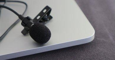 TEST : Le micro-cravate pour téléphone, Gyvazla 3.5 mm Audio Jack Omnidirectionnel