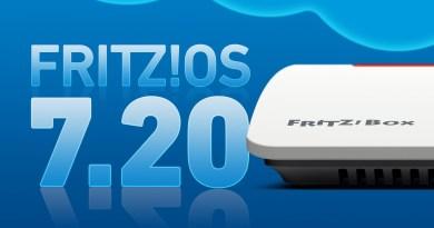 Le nouveau système d'exploitation FRITZ!OS 7.20 offre encore plus de performance, de convivialité et de sécurité.