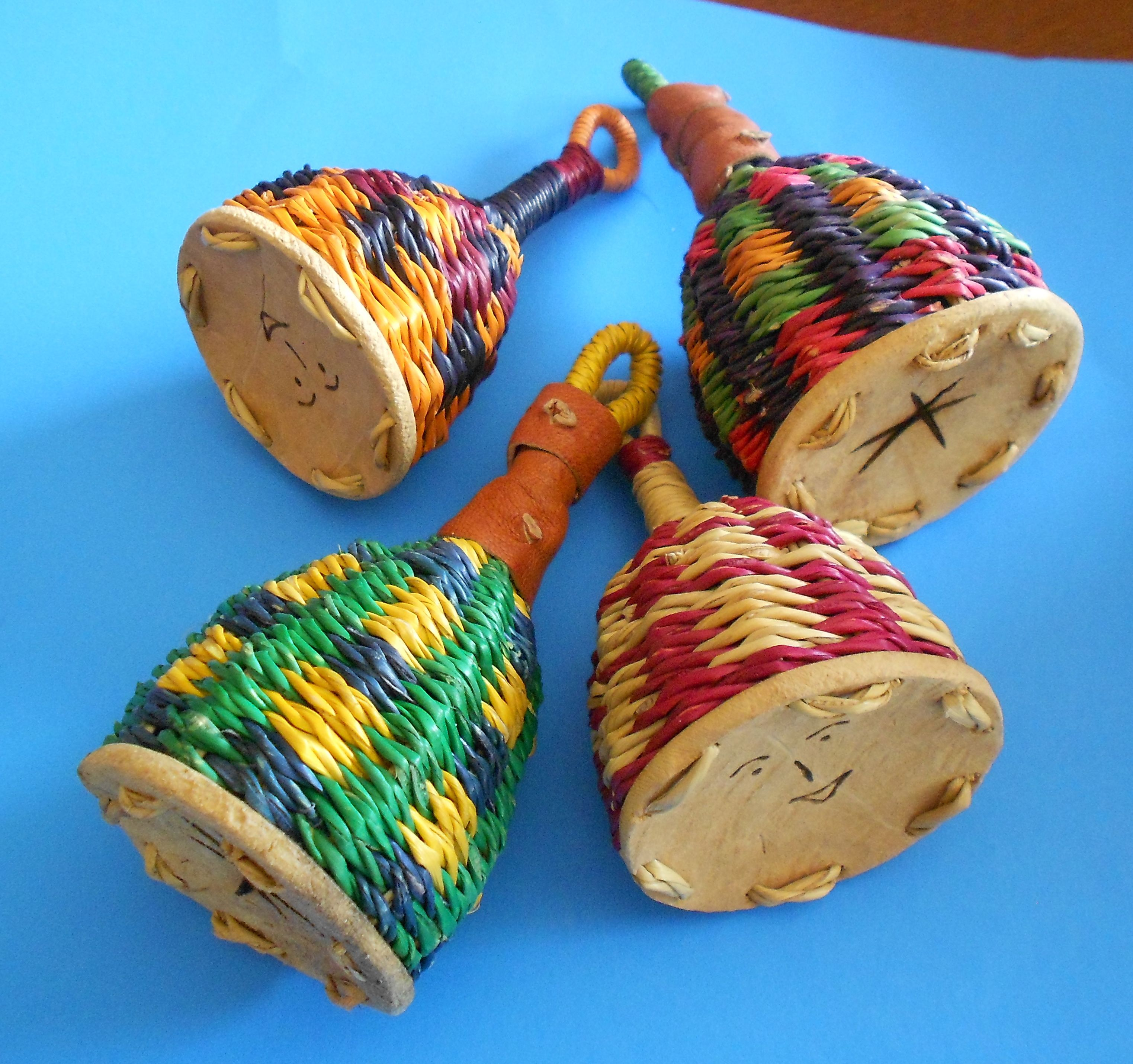 Make Your Own Woven Caxixi Rattle
