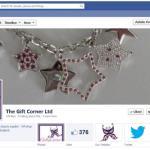 Facebook set up for Gift Corner