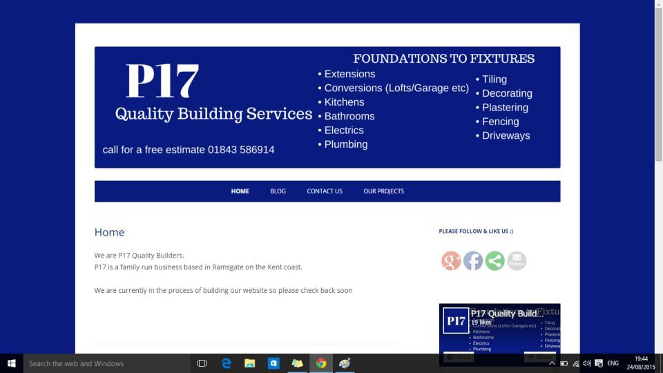 Website Design for P17