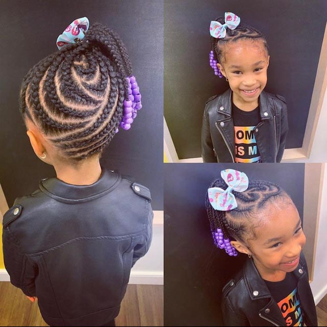 Cornrows with Natural Hair 2 - Our Services